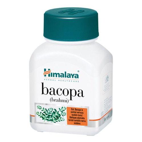 Бакопа (Brahmi), 60 капсули, подкрепя функциите на мозъка и нервната система