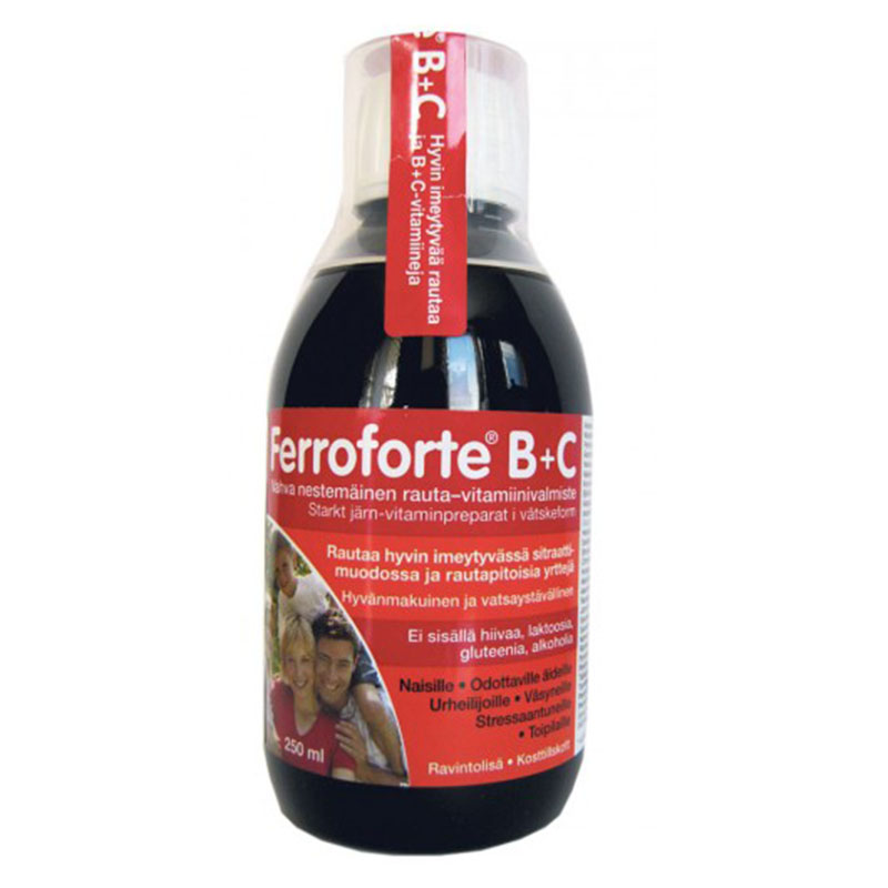 Ферофорте B+C (Ferroforte B+C), 250 мл
