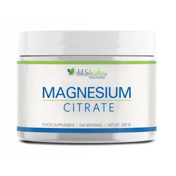 Magnesium citrate, 200 g, HS Labs