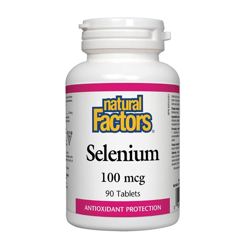 Selenium / Селен 100 mcg, 90 таблетки