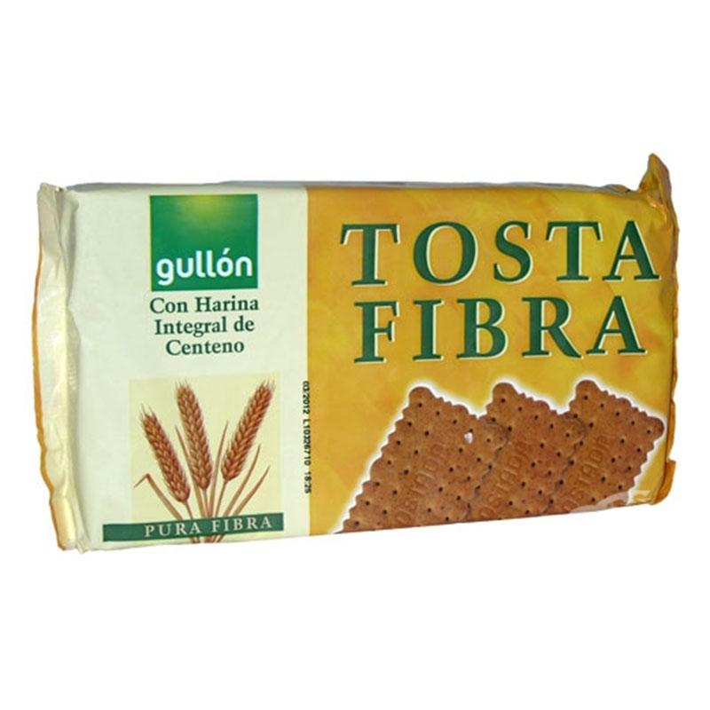Тоста Фибра, пълнозърнести бисквити богати на фибри, 450 гр
