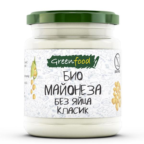 Био майонеза без яйца Класик, 260 гр
