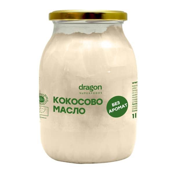 Био Кокосово Масло, без аромат, 1000 мл