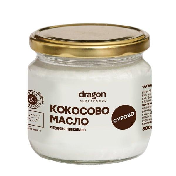 Био Кокосово Масло, студено пресовано, 300 гр