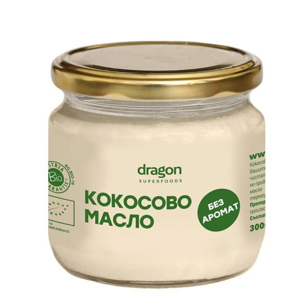 Био Кокосово Масло, без аромат, 300 гр