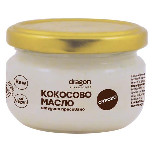 Био Кокосово Масло, студено пресовано, 100 гр