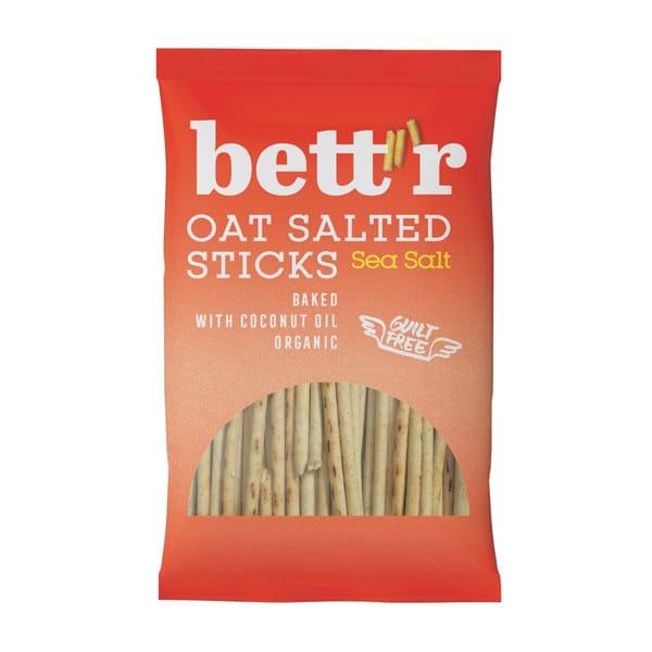 Овесени солети с морска сол, 50 гр