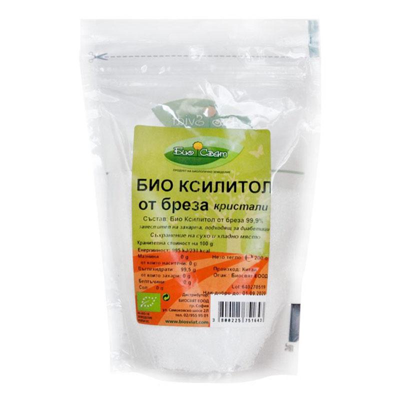 Био Ксилитол, Биосвят, 200 гр.