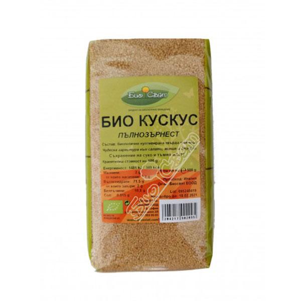 Био Пшеничен кускус пълнозърнест, 500 гр.