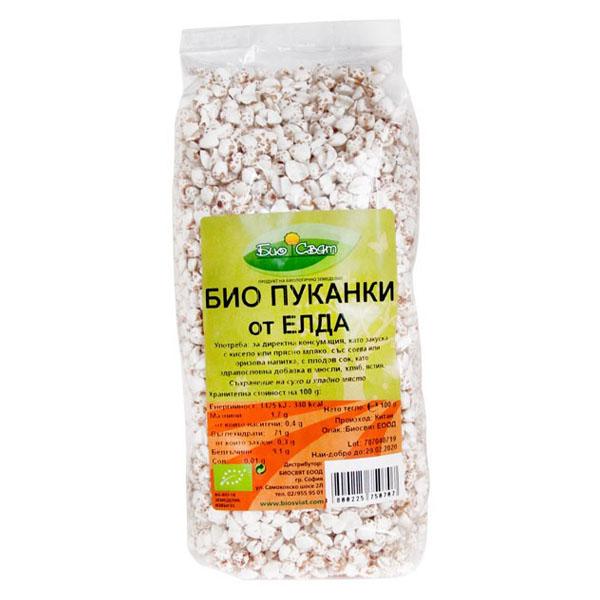 Био Пуканки от елда, 100 гр.