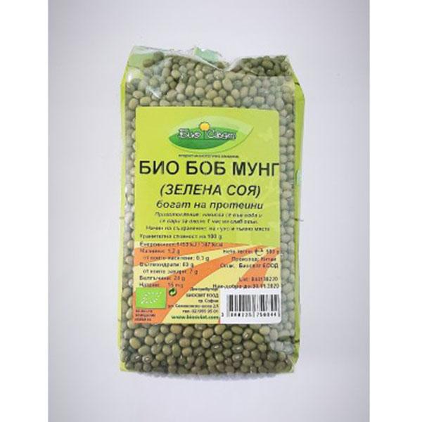 Био Боб Мунг (зелена соя), 500 гр.