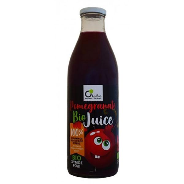 Био натурален сок от нар, Ola Bio, 1 л