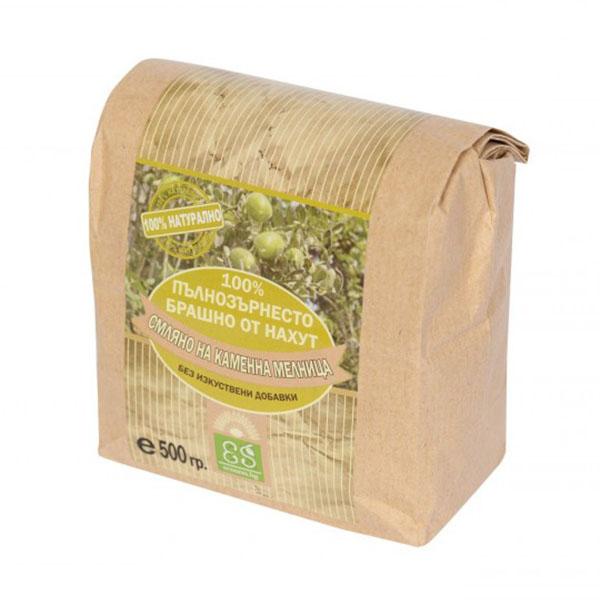 100% Пълнозърнесто брашно от нахут, 500 гр