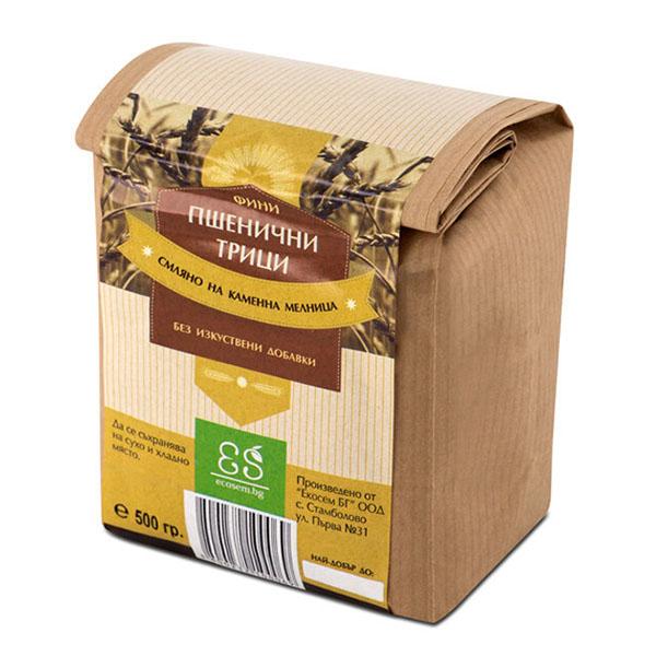 Пшенични трици - фини, 500 гр